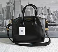 Качественная женская сумка Живанши. Черная.Люкс копия!
