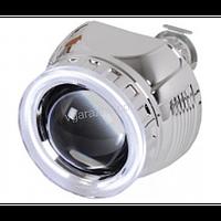 Fantom Биксеноновая линза для фар Fantom с ангельскими глазками и маской типа B3 и инвертором