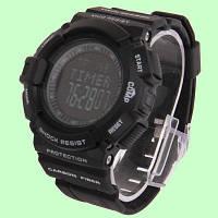 Защищенные спортивные часы S-WA-0012 с альтиметром, барометром, термометром,подсветка