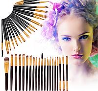 Набор кистей для макияжа 20 шт,кисти для макияжа,основ,век,глаз,бровей