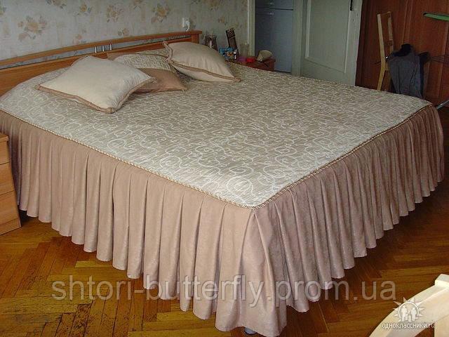 Дизайн покрывала на кровать своими руками