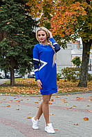 Яркое  трикотажное  женское платье электрик Спайс Кукуруза  Modus  46-48 размеры
