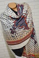 Яркий палантин шарф платок Louis Vuitton