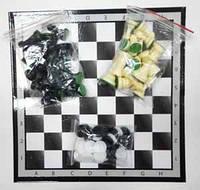 Набор 3 в 1 (шашки, шахматы, нарды) №101