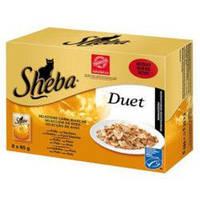 Sheba Duet  85г*28шт - паучи  для кошек  в ассортименте