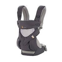 Эрго-рюкзак Four Position Ergobaby 360 Cool Air – Carbon Grey в коробке с инструкцией