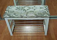Скамейка для обуви №1 NOVA  белое дерево