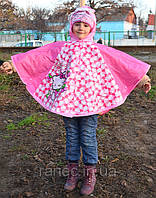 Дождевик для девочек Hello Kitty пончо