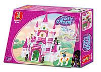Конструктор, типа лего, Розовая мечта, Замок (М38-B0151)