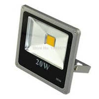 Светодиодный LED  прожектор SLIM 20 w IP66 2000 Lm 20Вт
