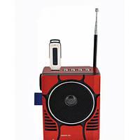 USB Радиоприемник с фонарем GOLON RX-188, радио переносное на аккумуляторе FM. MP3, SD, USB