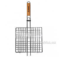 Решетка для гриля с деревянной ручкой Скаут 0702