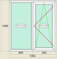 Окна металлопластиковые Veka Века, трёхкамерный профиль, двокамерный стеклопакет, недорого, качественно