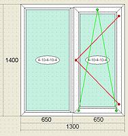 Окна металлопластиковые Veka Века, пятикамерный профиль, двокамерный стеклопакет, недорого, качественно