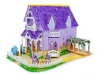 "Детский 3D пазл ""Фиолетовый домик"" (Pretty Purple Dollhouse 3D Puzzle) ТМ Melissa & Doug MD9461"