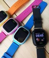 Умные детские часы- телефон Smart Baby Watch, оригинал, Q100(A10,Q60), сенсорный цвет.экран,Wi-Fi,GPS,гарантия