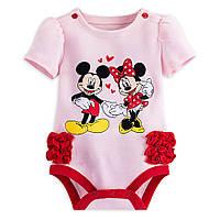 Бодик для девочки Disney. 3-6 месяцев