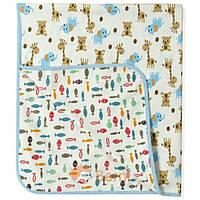 Детское двустороннее детское одеяло Berni 90х80 см (покрывало, плед) ТМ Berni Разноцветный 4795