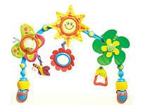 """Дуга развивающая для коляски и автокресла """"Солнечная прогулка"""" для детей с 0 мес. ТМ Tiny Love 1401505830"""