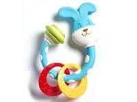 """Игрушка погремушка - прорезыватель """"Зайчик"""" для детей с рождения ТМ Tiny Love 1110400458"""