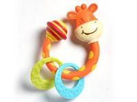 """Игрушка погремушка - прорезыватель """"Жираф"""" для детей с рождения ТМ Tiny Love 1110300458"""