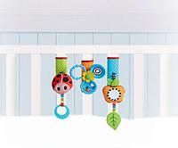 Игрушки-липучки для детской кроватки и коляски «Веселая игра» для детей с 0 мес. ТМ Tiny Love 1303605830
