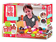 """Набор для лепки Tutti-Frutti """"Кондитер"""" (3 баночки пластилина по 128г, шприц) ТМ BOJEUX BJTT14824"""