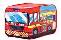 """Палатка детская """"Пожарная машина"""" (Размер: 110 х 70 х 70 см) ТМ Bino 82815"""