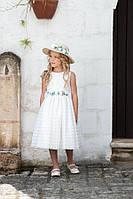 Праздничное детское платье для девочки 11, 14 лет р. 146, 164 ТМ Les Gamins 3174