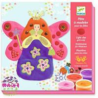 Художественный комплект Пластилиновая Принцесса Флер DJECO DJ08910