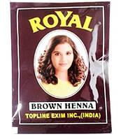 Хна Royal коричневая из Индии натуральная краска для волос (пакетик)