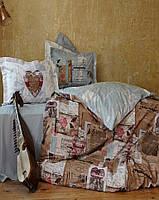 Постельно белье Karaca Home перкаль Dreamer евро размера