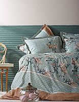Постельное белье Karaca Home перкаль Layla евро размера