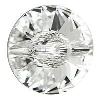 Пуговицы Сваровски 3015 Crystal