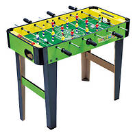 Футбол ZC 1023 B  на штангах, деревянный, на ножках, 82-42,5-64,5см