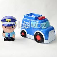 Детская музыкальная машинка спецтехника Keenway полиция