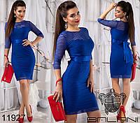 Облегающее платье на Новый год р. 44, 46 11923 5 цветов