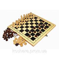 Акция! Набор из 3 игр: шахматы + шашки + нарды