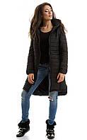 Куртка зимняя Герда черная