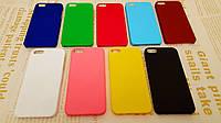 Чехол накладка бампер для iPhone 5 / 5S / SE (9 цветов)
