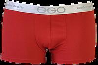 """Трусы мини шорты мужские """"Ego"""" MSH 101 ( 2 шт в уп) Sport Collection цвет красный"""