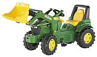 Трактор педальный Rolly Toys rollyFarmtrac John Deere зеленый
