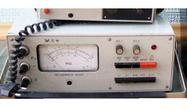 мегаомметр м1603 инструкция - фото 10