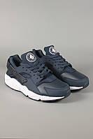 Кроссовки Nike Air Huarache темно синие. Спортивная обувь. Обувь для спорта. Кроссовки Nike