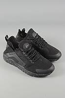 Кроссовки Nike Air Huarache черные. Спортивная обувь. Обувь для спорта. Кроссовки Nike