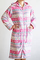 Халат женский Merry Valerie Dream с ярким рождественским орнаментом и капюшоном M, L, XL, XXL
