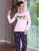 Домашний костюм, пижама с брюками, (S/M, L/XL)
