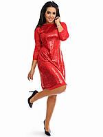 Коктейльное платье 48-54р 03372, фото 1