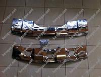 Накладки под передний и задний бампер на Mercedes GL164