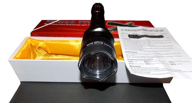 Электрошокер Усиленный ZZ 1108 Titan Professional (Шокер Титан 1108 2014)+инструкция на русском языке - фото 2